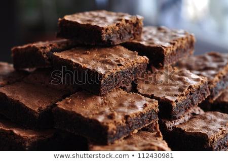 Chocolate tuerca dieta naturales Foto stock © raphotos