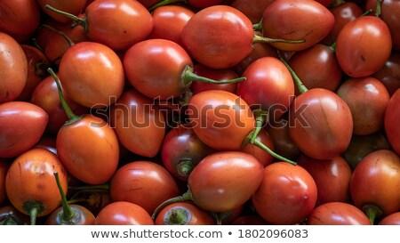 Tree Tomatoes at the Market stock photo © rhamm
