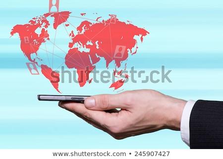 Foto stock: Smartphones · mundo · hospital · rede · rádio · lei