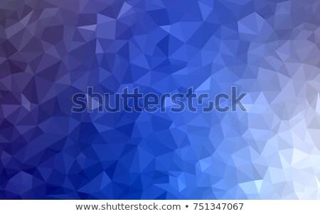 színes · háló · mértani · átláthatóság · modern · hálózat - stock fotó © mcherevan