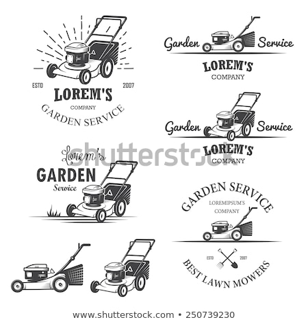 Retro Lawn Mower Stock photo © Stocksnapper