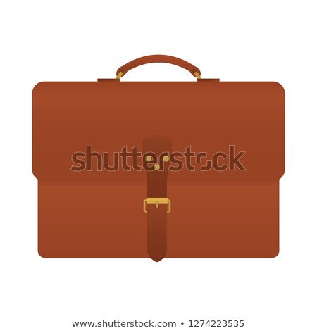 front view of elegant brown suit Stock photo © caimacanul