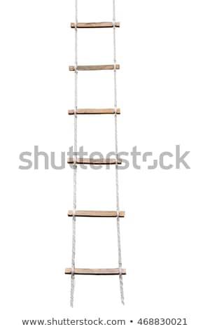 escada · vertical · isolado · futuro · sucesso - foto stock © ozaiachin
