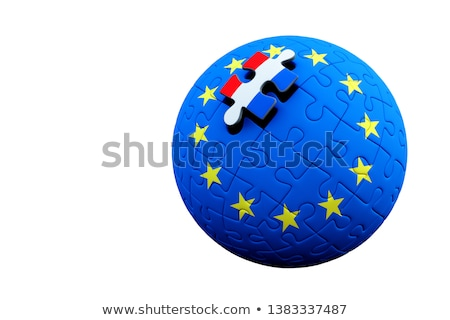 European Union and Luxembourg Flags in puzzle Stock photo © Istanbul2009