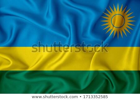 Руанда флаг рубашку деловой человек человека Сток-фото © fuzzbones0