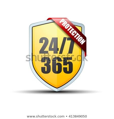 безопасного текста часы время безопасной опасность Сток-фото © fuzzbones0