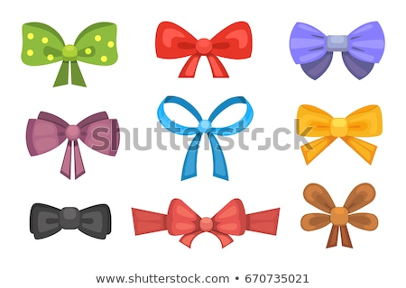 pink ribbon tie in a bow Stock photo © AptTone