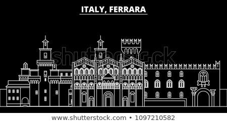 Map of Italy, Ferrara Stock photo © Istanbul2009