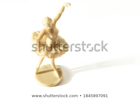 old ivory statuette  Stock photo © OleksandrO