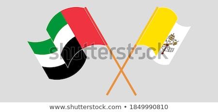 Emirati Arabi Uniti vedere Città del Vaticano bandiere puzzle Foto d'archivio © Istanbul2009
