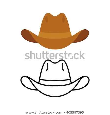 cowboy · viselet · western · lovaglás · felszerlés · fém - stock fotó © vapi