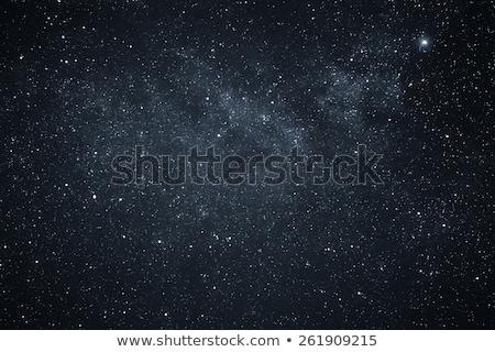 Sötét mély űr képzeletbeli kék csillagköd Stock fotó © alexaldo