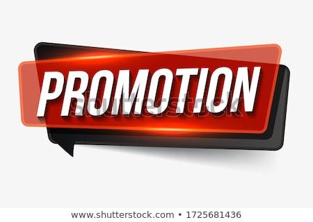 promoción · imagen · mano · humana · senalando · papel · en · blanco · publicidad - foto stock © pressmaster