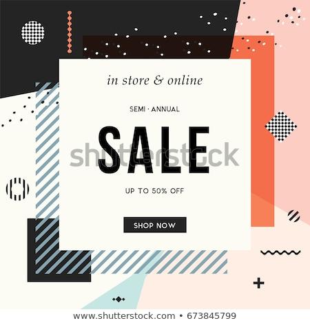 final sale discount coupon voucher design template Stock photo © SArts