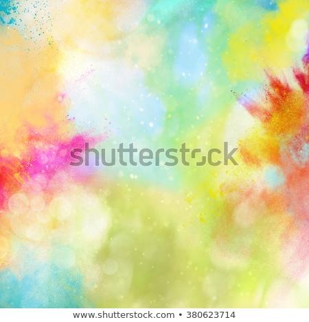 colorful background of holi festival Stock photo © SArts