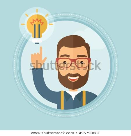 アジア · ビジネスマン · ビジネス · アイデア · 創造 · 立って - ストックフォト © rastudio