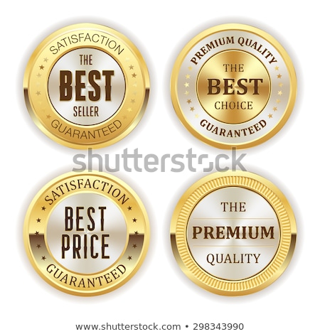 four best quality product label design vector stock photo © SArts