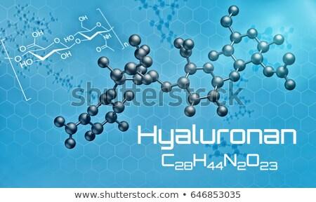 Stock fotó: Molekuláris · modell · 3d · render · technológia · minta · kémia
