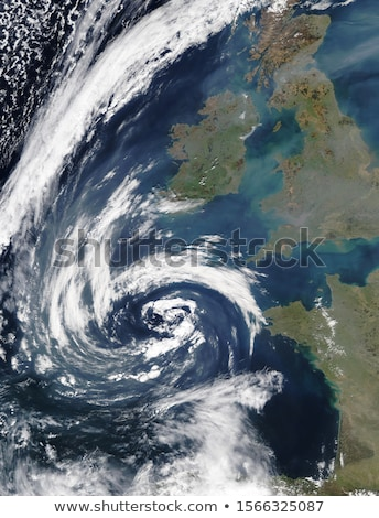 North Europe. Elements of this image furnished by NASA Stock photo © ixstudio