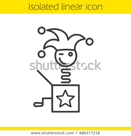 1 april fools day linear stock photo © olena