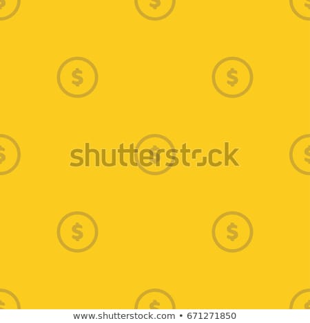Stock fotó: Pile Gold Coins Seamless Pattern Money Vector Background