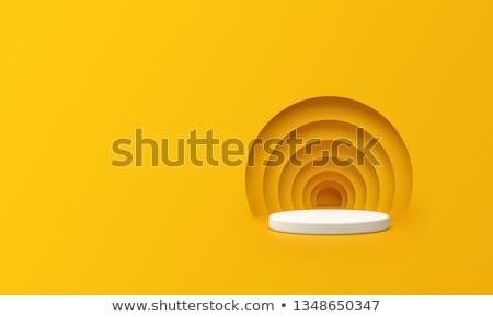 Pusty studio podium pokaż galerii fotografii Zdjęcia stock © SArts