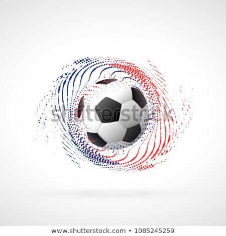 Futball bajnokság szalag terv részecske örvény Stock fotó © SArts