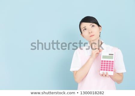 Establecer dinero mujeres compras financiar Foto stock © toyotoyo
