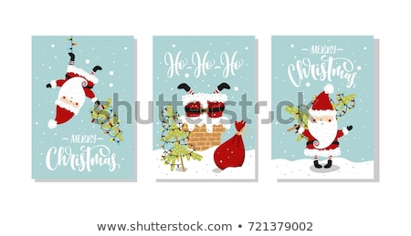 陽気な · クリスマス · 販売 · タグ · 引用 · 文字 - ストックフォト © cienpies