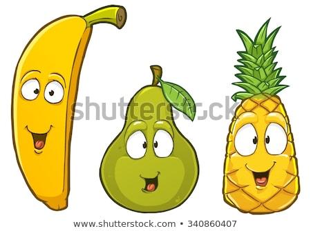 glas · vers · sinaasappelsap · geïsoleerd · voedsel · vruchten - stockfoto © lenm