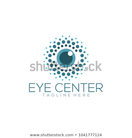 Olho logotipo vetor assinar elemento ícone Foto stock © blaskorizov