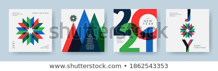 winter holidays concept vector illustration stock photo © rastudio