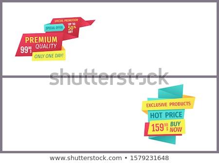 Grande venda desconto quente preço Foto stock © robuart