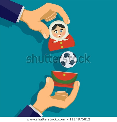 Russo boneca menina imagem Foto stock © robuart