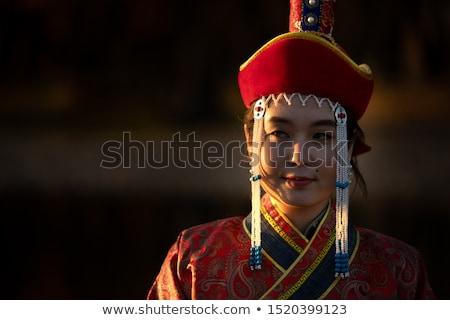 Mongolian woman Stock photo © disorderly