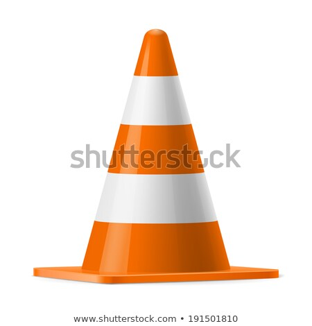 Road Cone, Street Sign to Forbid Traffic Caution Stock photo © robuart