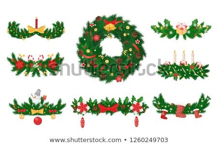 рождественская · елка · форме · звездой · Top - Сток-фото © robuart