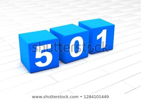 3D illustration of the HTML error Code 501  Stock photo © Spectral