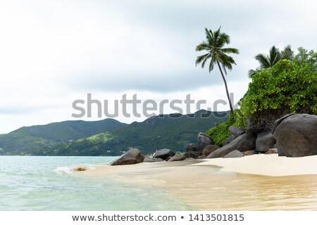 Idyllic View Of Anse Royale, Mahe Island, Seychelles Stock photo © AndreyPopov