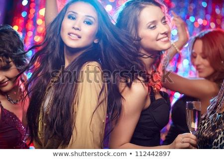 Tánc emberek klub nők szórakozás diszkó Stock fotó © robuart