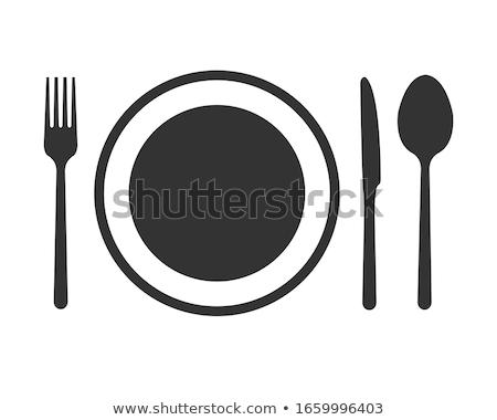 Dinner place setting Stock photo © naumoid