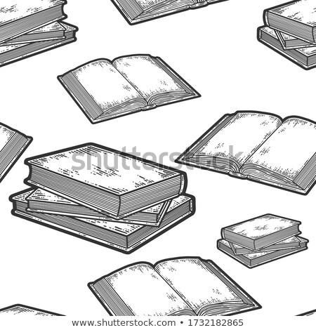 Encyclopédie trois isolé blanche affaires Photo stock © rcarner