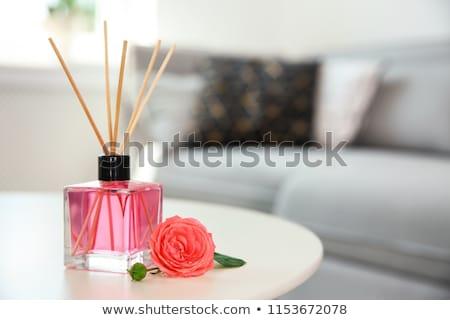 Aromás izolált fehér ázsiai parfüm meditáció Stock fotó © kitch