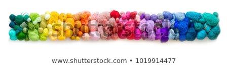 корзины · оранжевый · зеленый · ткань · красный - Сток-фото © tatik22