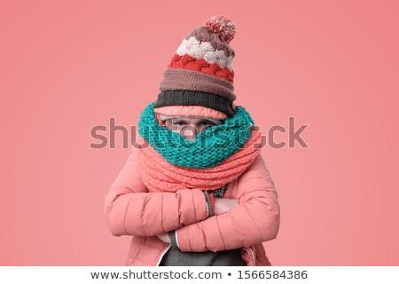 Personas atractivo hombre guapo fedora sombrero Foto stock © piedmontphoto