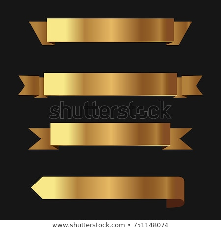 Golden Banners (illustration) Stock photo © UPimages