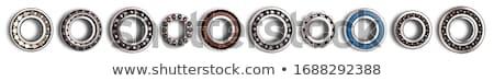 Engrenagem roda dentada isolado branco tecnologia fundo Foto stock © kitch