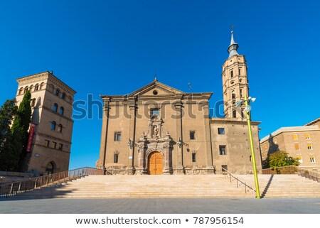 Church of San Juan de los Panetes, Zaragoza Stock photo © aladin66