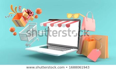E-shopping - 3D render Stock photo © Elenarts