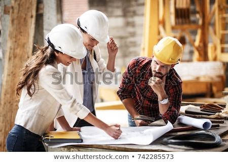 Two building inspectors Stock photo © photography33